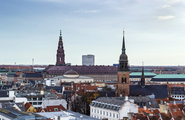 view of the Copenhagen, Denmark