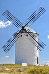 Los gigantes del Quijote, Campo de Criptana, molino de viento