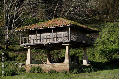 Traditional rural construction in Asturias