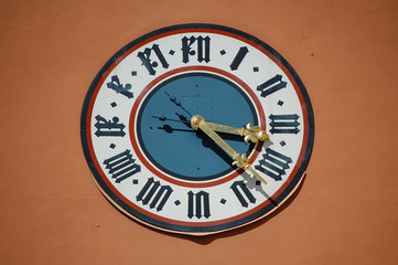 Particular clock Regensburg