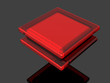 3d colorful square red 1