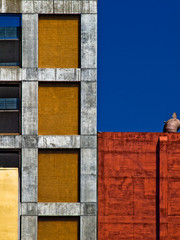 abstract of building in Los Angeles