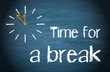 Time for a break - 63380096