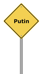 Warning Sign Putin