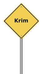 Warning Sign Krim