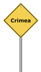 Warning Sign Crimea