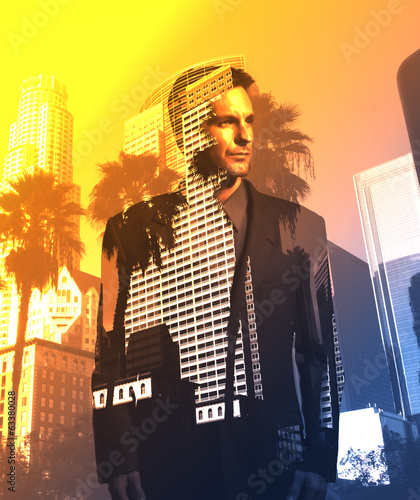 Businessman in Los Angeles