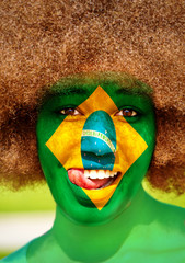 Portrait of a brazilian girl