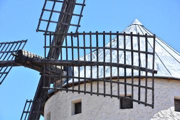 Aspas de un molino de viento, Campo de Criptana, Ciudad Real
