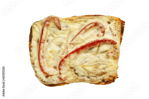 sandwich isolated on white background