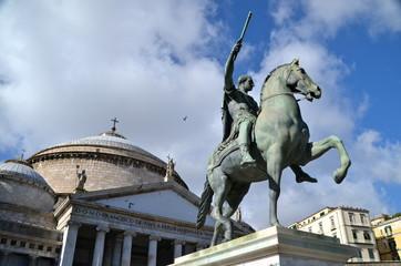 Statue of Charles III of Spain, Naples
