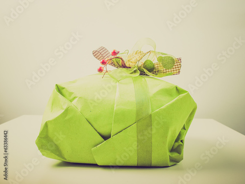 Retro look Gift packet