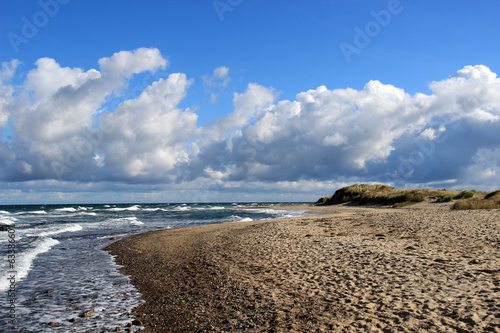 canvas print picture Ostseestrand
