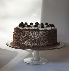 Torta Foresta nera festeggiare con amici dolce tipico