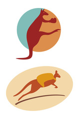 kangaroo-symbols