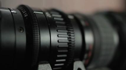 Kameraobjektiv und die Brennweite