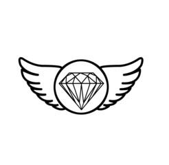Diamant Wappen