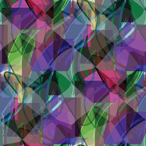 seamless texture (EPS 8) america ancient purple, green backgroun