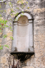 Niche in the Wall