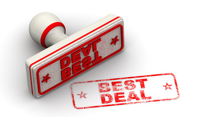 BEST DEAL. Seal and imprint