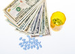 Bills of mony and prescription medicine