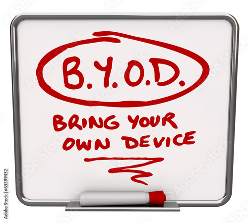 BYOD Message Board Company Policy Bring Your Own Device