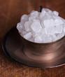 White sugar candies