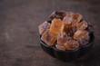 Large brown sugar candy