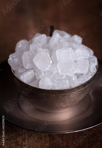 White sugar candies