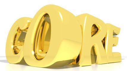 Core gold