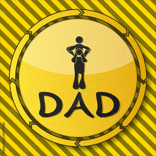 construction dad icon