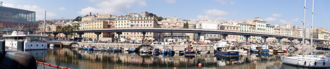 Pont routier à Gênes