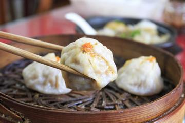 Chinese dim sum, dumplings