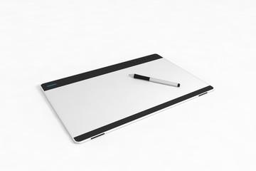 Grafiktablett mit Stift