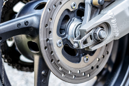motorcycle wheel brake background in motorbike, motorcycle wheel