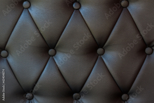Texture of vintage black leather.