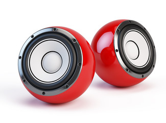 Sphere speakers