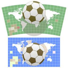 Футбольный плакат,набор