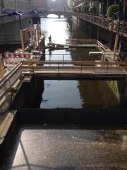 lavori nel canale