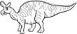 lambeosaurus dinosaur coloring page
