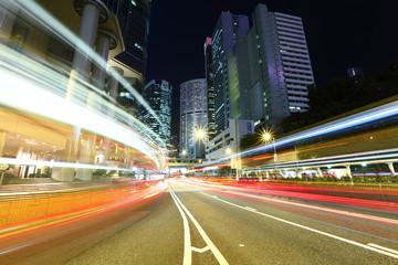 Hong Kong busy traffic