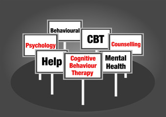 Cognitive behaviour therapy signs