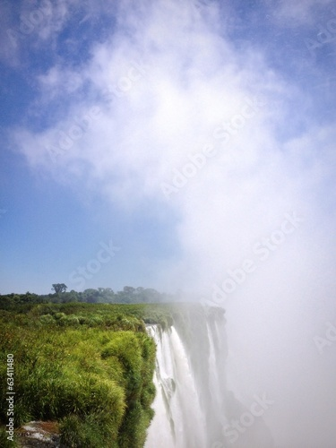 Cloud from Devil's throat, Iguazu falls