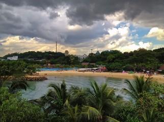 Palawan Beach, Sentosa Island, Singapore, Southeast Asia