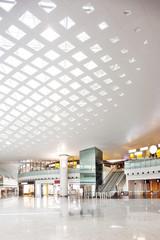 hall of modern building
