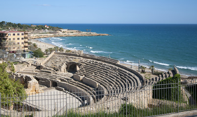 Roman amphitheater of Tarragona.Catalonia.Spain