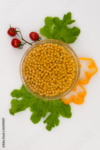 Vegetables on a white background