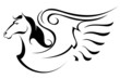 Silhouette of Pegasus