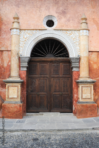 Entrance door at Antigua