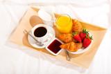 Fototapety breakfast in bed